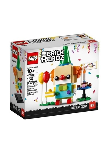 Lego Lego Brickheadz 40348 Dogum Günü Şalyaçosu Renkli